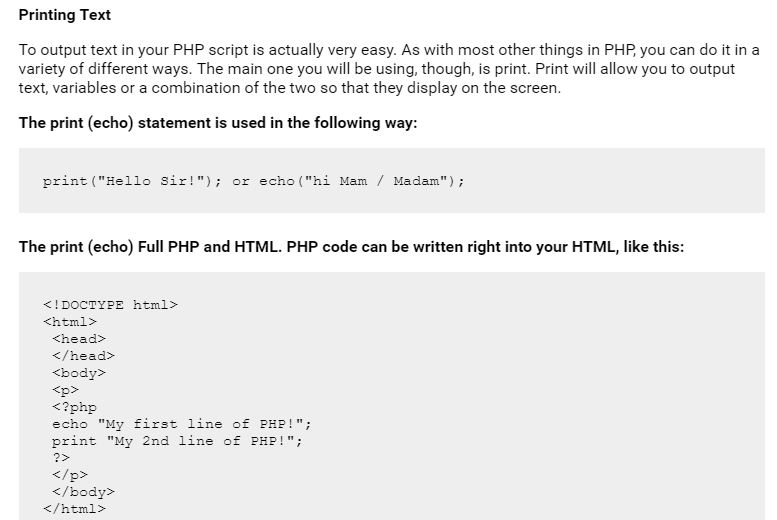 Best PHP Tutorial For Beginners (Format & Variables)
