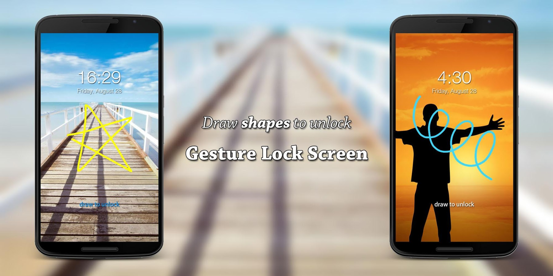 Gesture Lock Screen