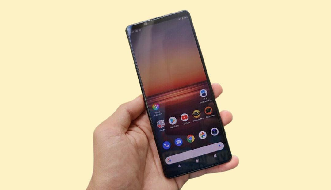 Sony Xperia mobile phone
