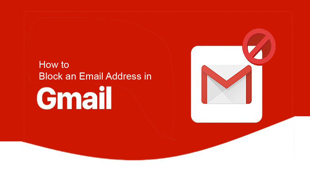 How to Block an Email Address in Gmail on web