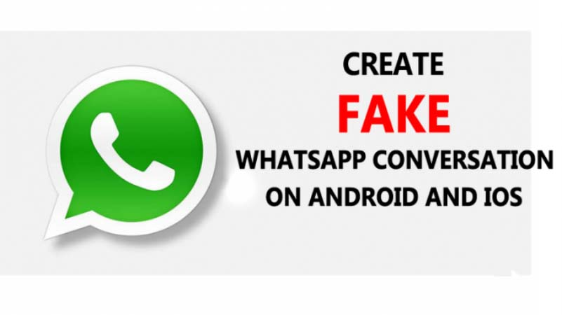 Whatsapp fake conversation