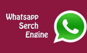Whatsapp-Search-engine