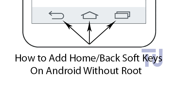 Home Button on Android Sreen