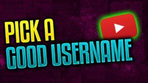 Youtube Username