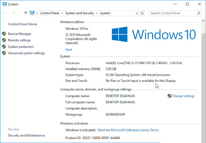 windows-10 Activate