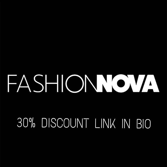 Fashion nova discount Code or Coupon Codes