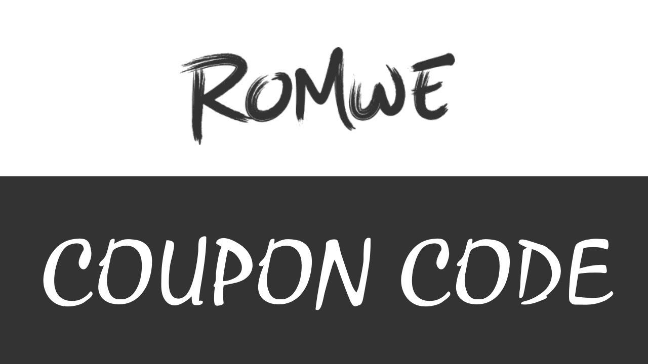 Romwe Coupon Code