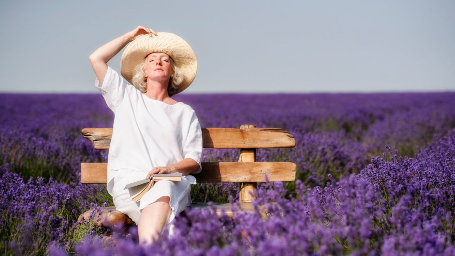 Science confirms, The smell of lavender is relaxing