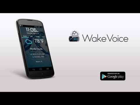 Wake Voice App