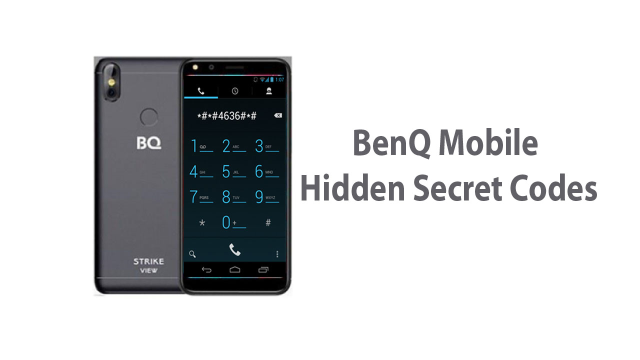 BenQ Mobile Hidden Secret Codes