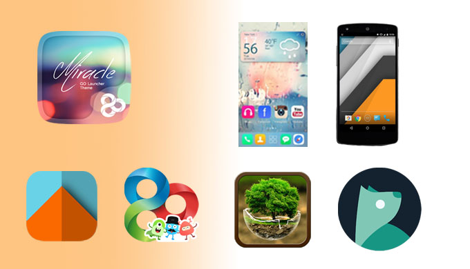 13+ Best Cool Themes for Android Free Download