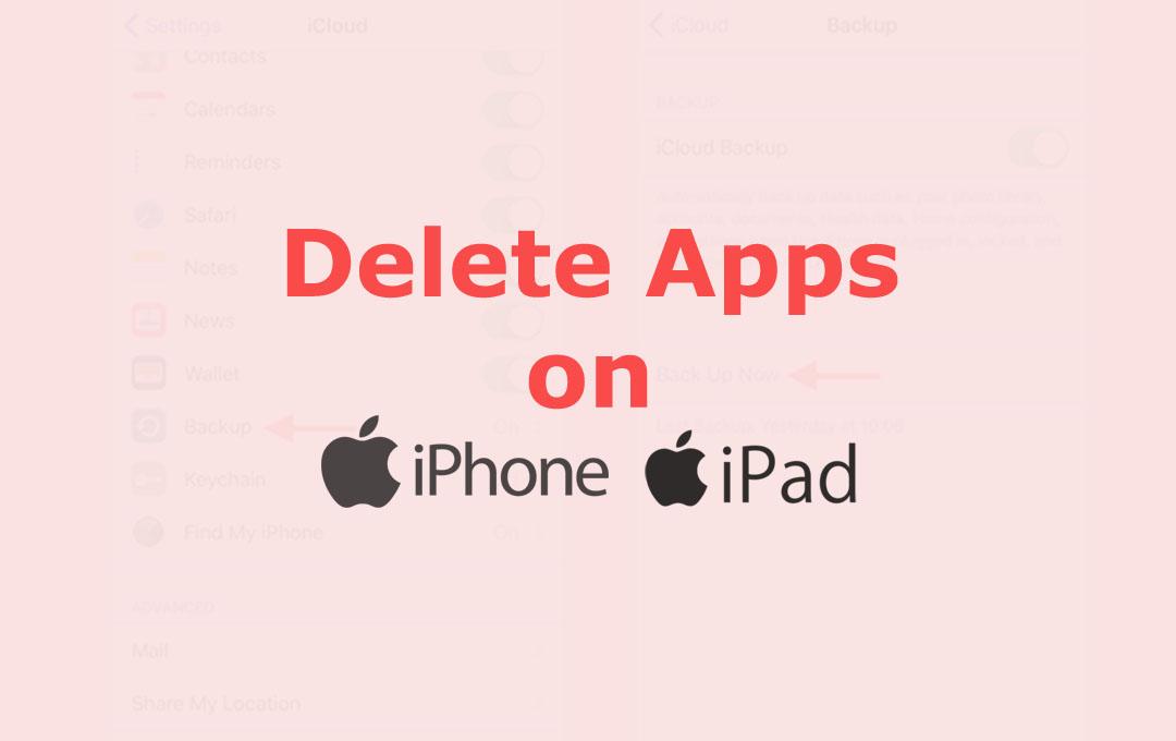 Delete Apps on iPhone & iPad