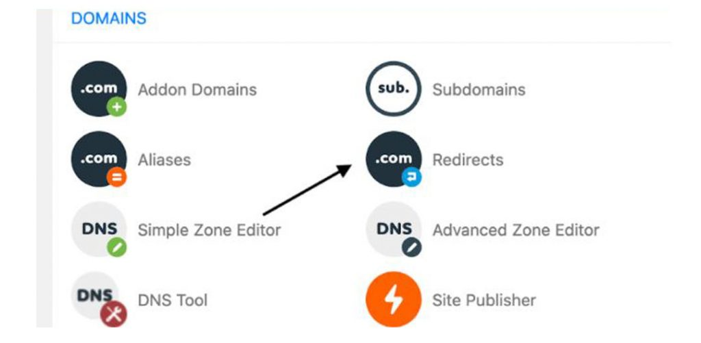 Set up redirects in cPanel